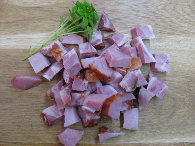 Diced Bacon